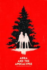 "Movie poster for ""Anna and the Apocalypse,"" directed by John McPhail."