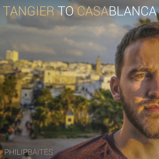 """After writing the song """"Tangier to Casablanca,"""" Philip Baites filmed a short movie by the same name featuring his host mother in Morocco."""