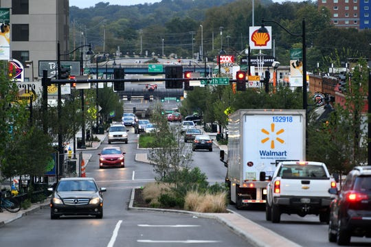 Business owners are worried the city wants to put Cumberland-style medians down Kingston Pike. The city says that is not happening, but plans are to rebuild the Kingston/Northshore intersection. Tuesday, Oct. 9, 2018.