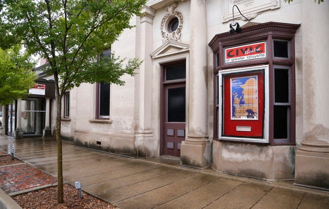 The Monon Depot Theatre, home of Civic Theatre of Greater Lafayette Wednesday, October 10, 2018, at 313 N. 5th Street in Lafayette.