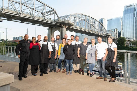 Louisiana chefs brought their cuisine to Music City during Louisiana X Nashville Oct. 9, 2018.