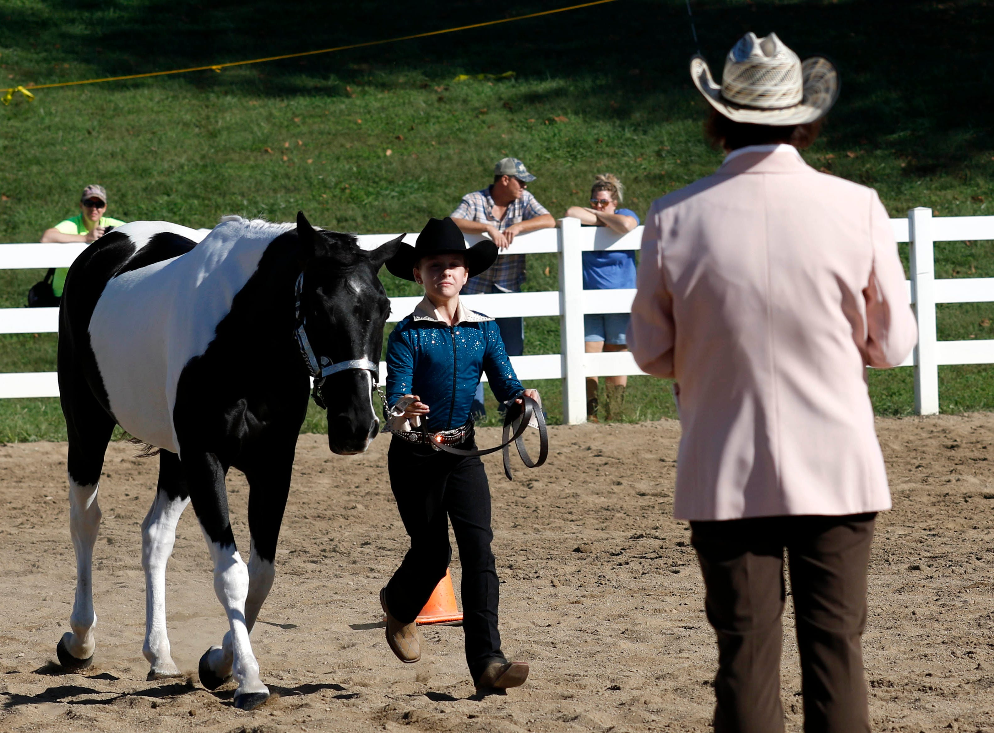 The junior fair horse show was held Wednesday, Oct. 11, 2018, at the Fairfield County Fair in Lancaster.