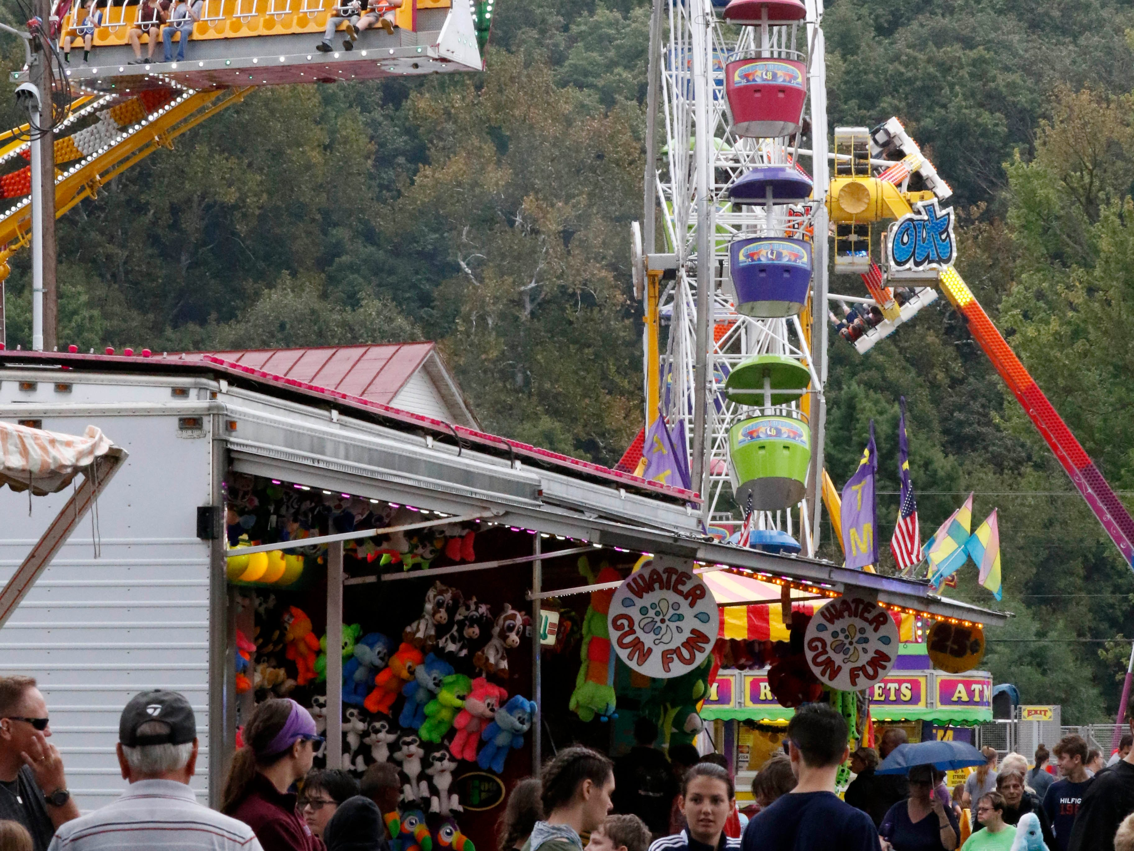 The Fairfield County Fair continued Wednesday, Oct. 11, 2018, in Lancaster.