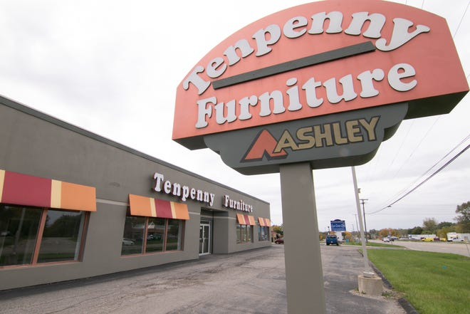 Volunteers of America of Michigan plans to up a thrift store in the former Tenpenny Furniture site, pictured Wednesday, Oct. 10, 2018, in Genoa Township just east of downtown Howell.