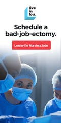 GLI's ads seeks to attract young engineers and nurses to Louisville. (Courtesy of GLI)