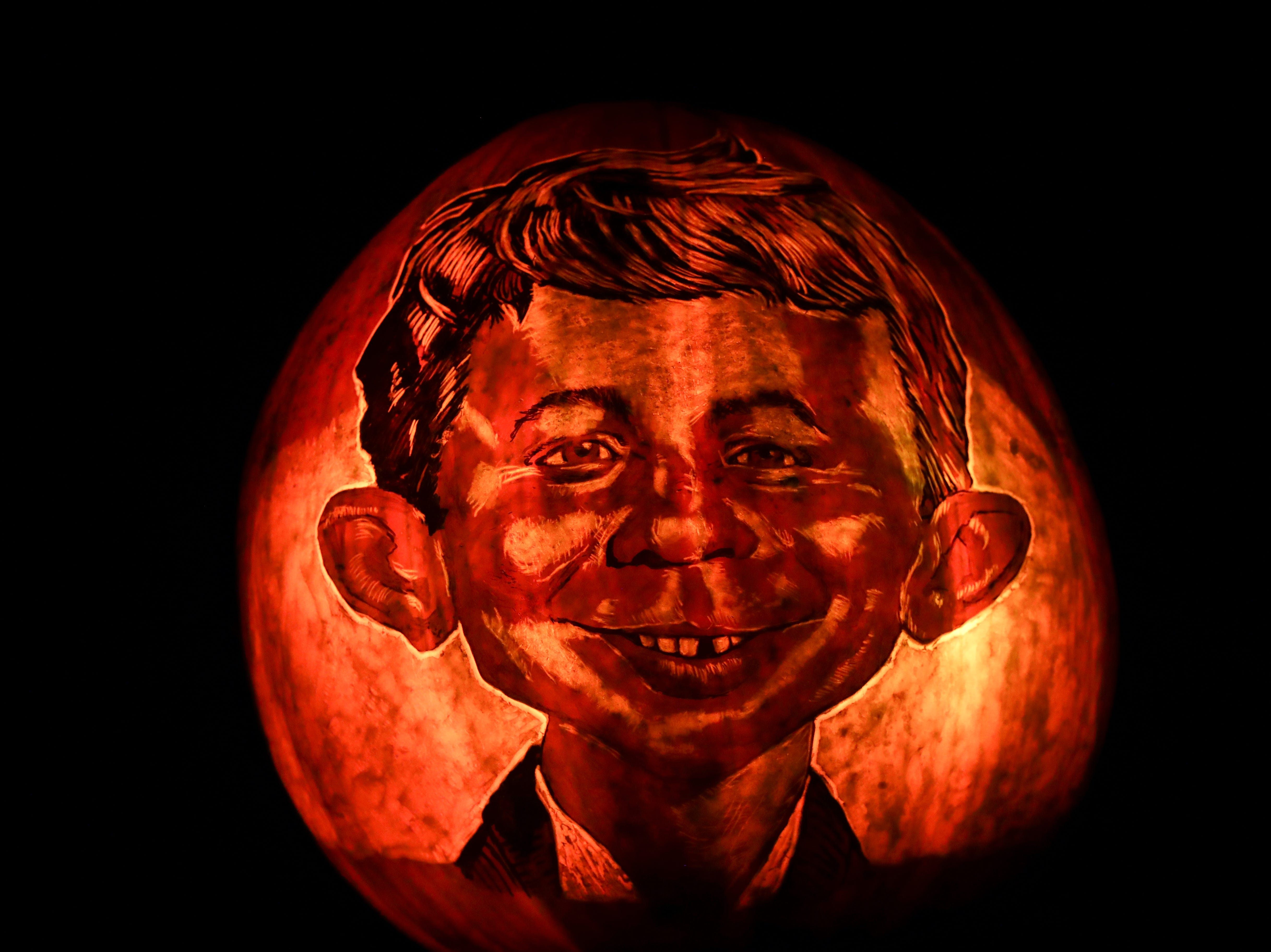 Mad Magazine has it's own section at this year's Jack O' Lantern Spectacular. Oct. 9, 2018