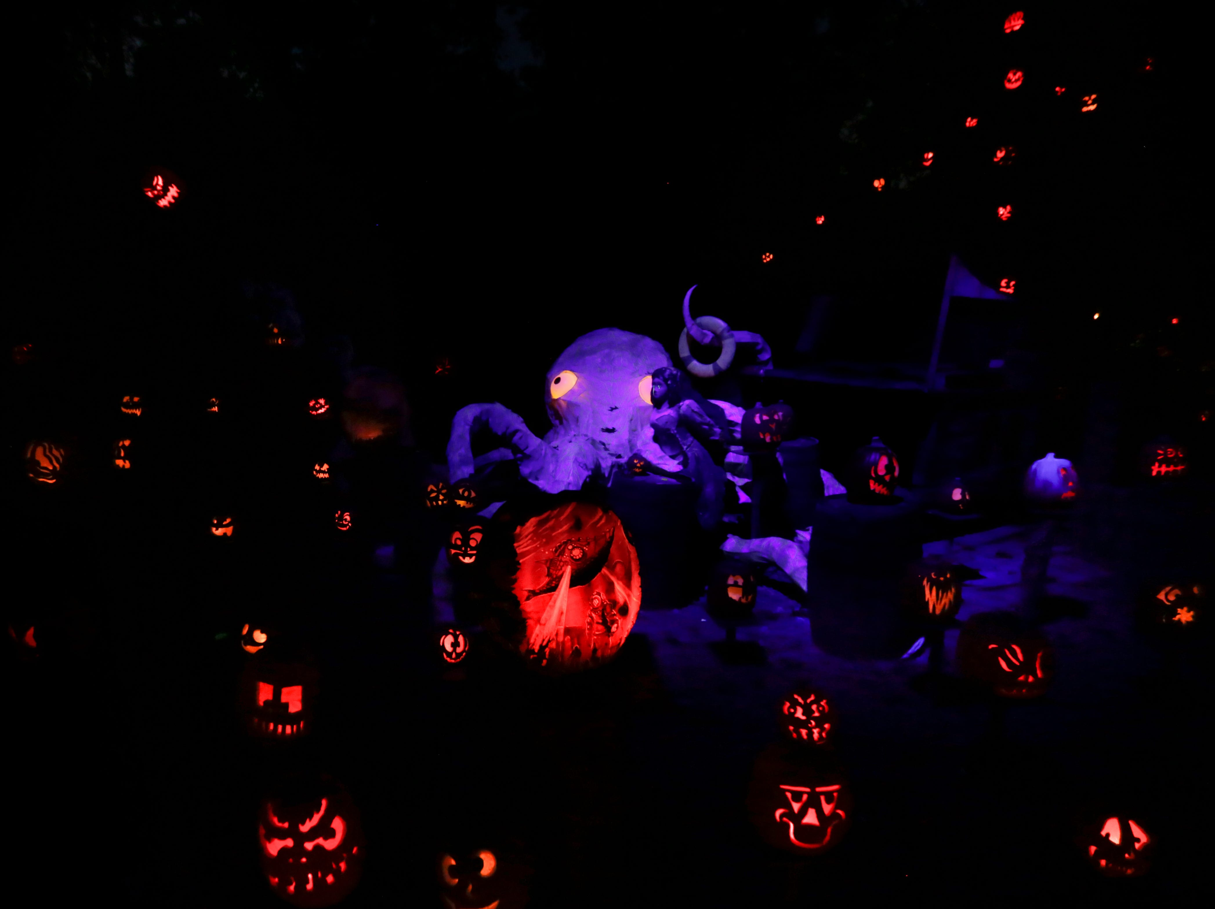 Scenes at this year's Jack O' Lantern Spectacular. Oct. 9, 2018