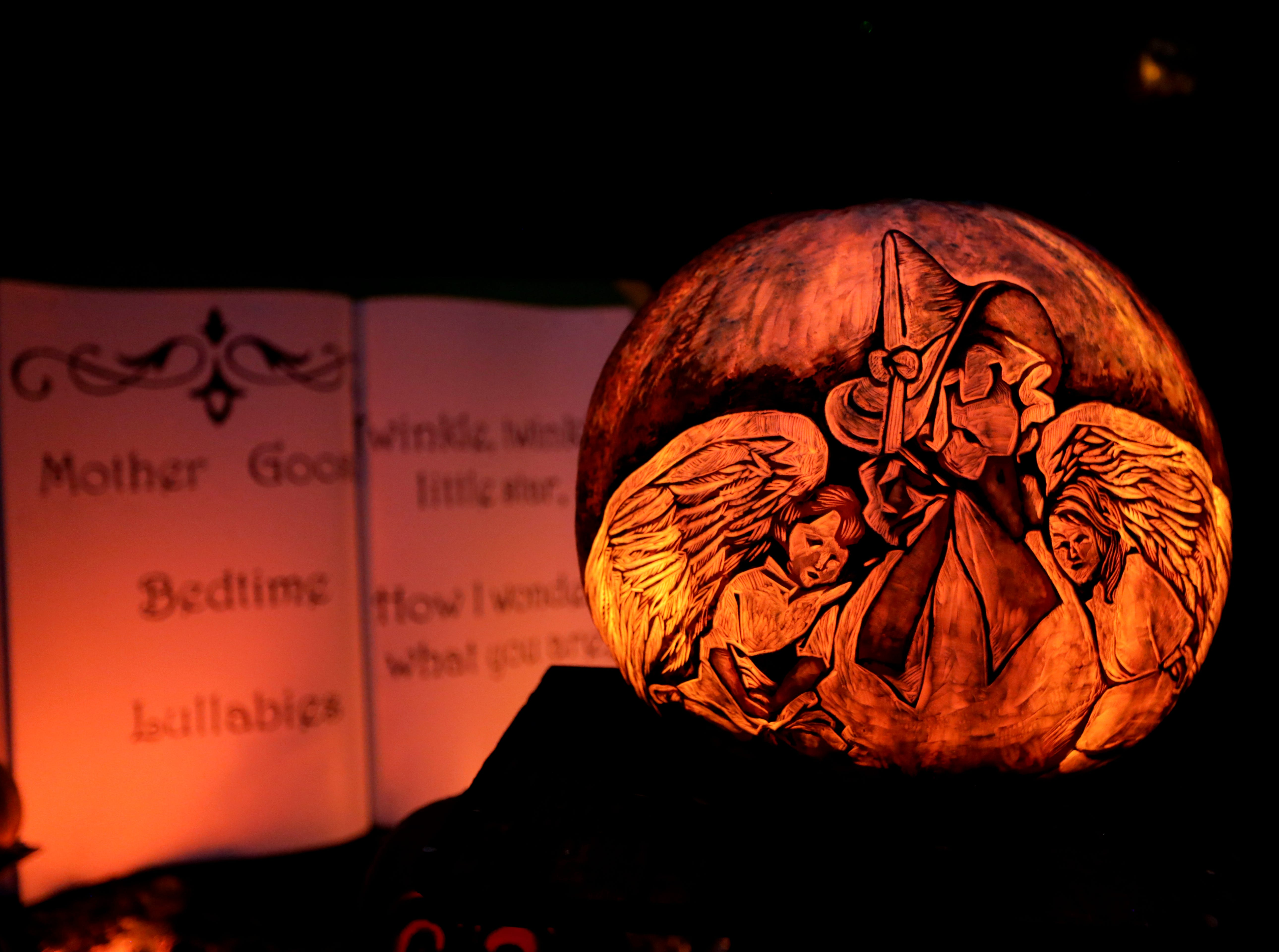 The start of the Mother Goose section at this year's Jack O' Lantern Spectacular.