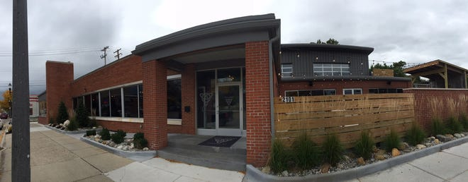 An exterior view of the new Arcadia Smokehouse on East Michigan Avenue.