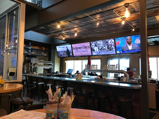 An interior view of the new Arcadia Smokehouse on East Michigan Avenue in Lansing.