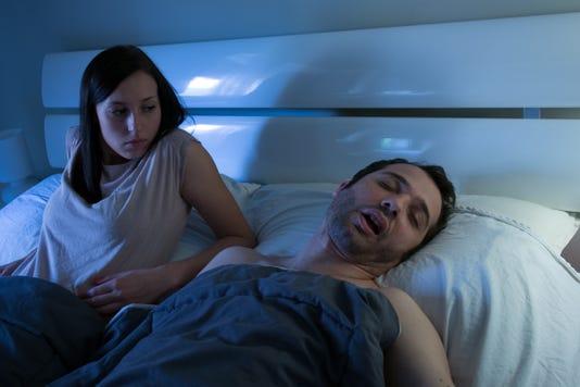 Woman Worried And Sleepless