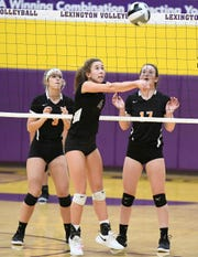 Lexington's Audra Kocher is one of the top returning volleyball players in the area in 2019.