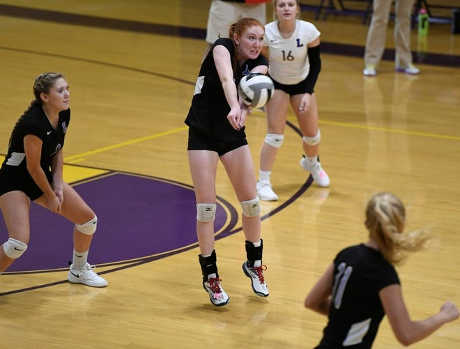 Lexington's Amelia Moore was named the 2018 Ohio Cardinal Conference Volleyball Offensive Player of the Year.