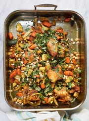 Shove it in the Oven Stew is a mix-and-match blend of protein, vegetables and starch.