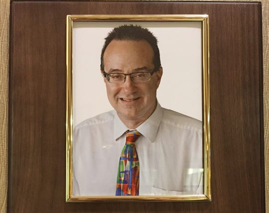 A dedication plaque was recently put up in honor of Brian Yagoda at ProHealth Care's Muskego clinic. Yagoda, killed while riding his bicycle in June, was a beloved doctor there for more than 20 years.