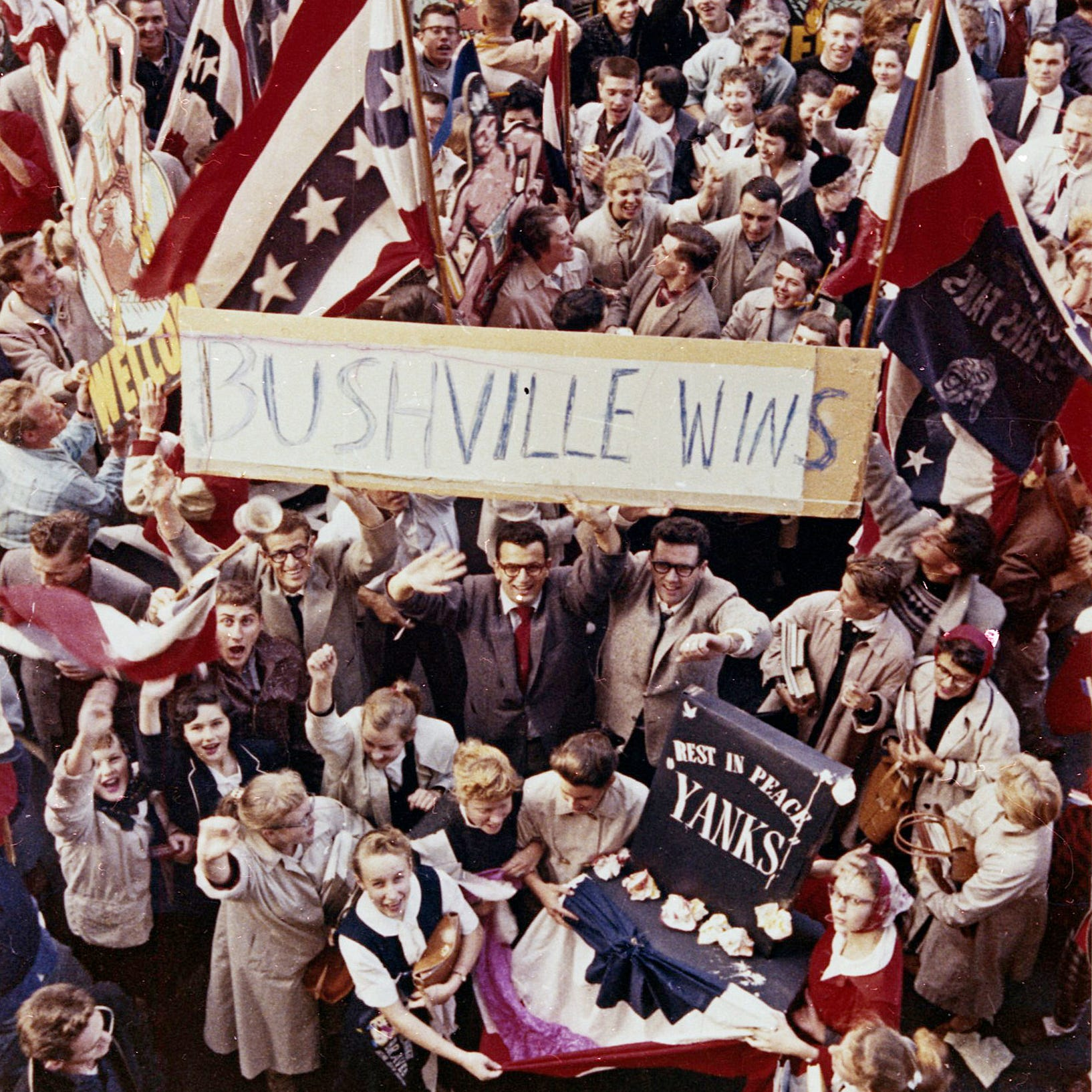 61 years ago today, the Milwaukee Braves won the World Series, and 'Bushville' won, too