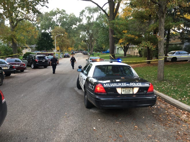 Milwaukee police shot an armed suspect Oct. 10 on the northwest side.