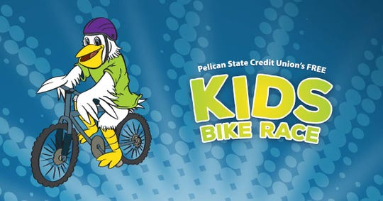 A kids bike race will take place Saturday at the Monroe Civic Center.