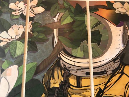 Magnolianaut by Jason Byron Nelson was a custom art piece made for Parish.