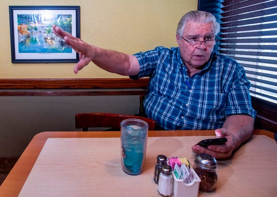 Dimitri Polizos, who is running for re-election for House District 74, is shown at his business in Montgomery, Ala., on Tuesday October 9, 2018.