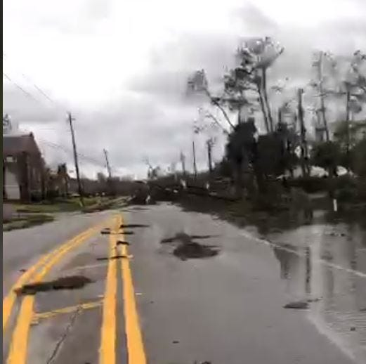 Live video after Hurricane Michael: See Panama City after the storm