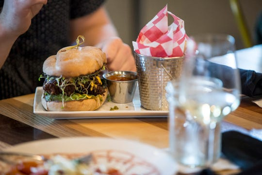 Bevi Bistro featured burgers, pasta, sandwiches, chicken, seafood and vegetarian items on its menu.