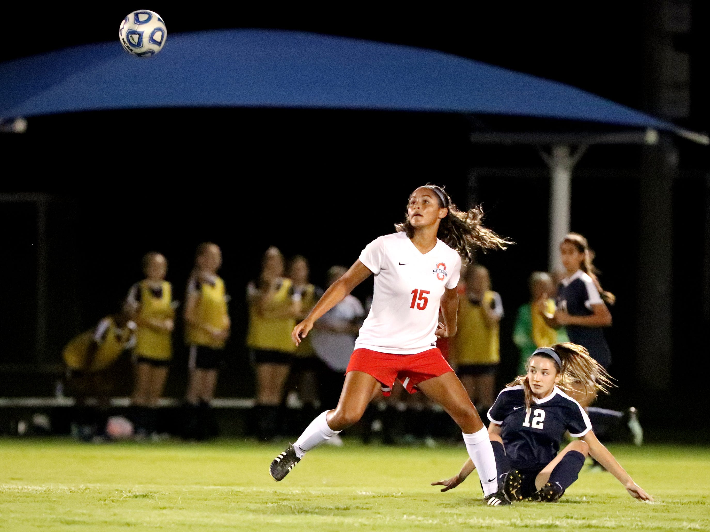 Oakland takes on Siegel in the semifinals of the 7-AAA Soccer Tournament, on Tuesday,  Oct. 09, 2018 at the Siegel Soccer Complex.