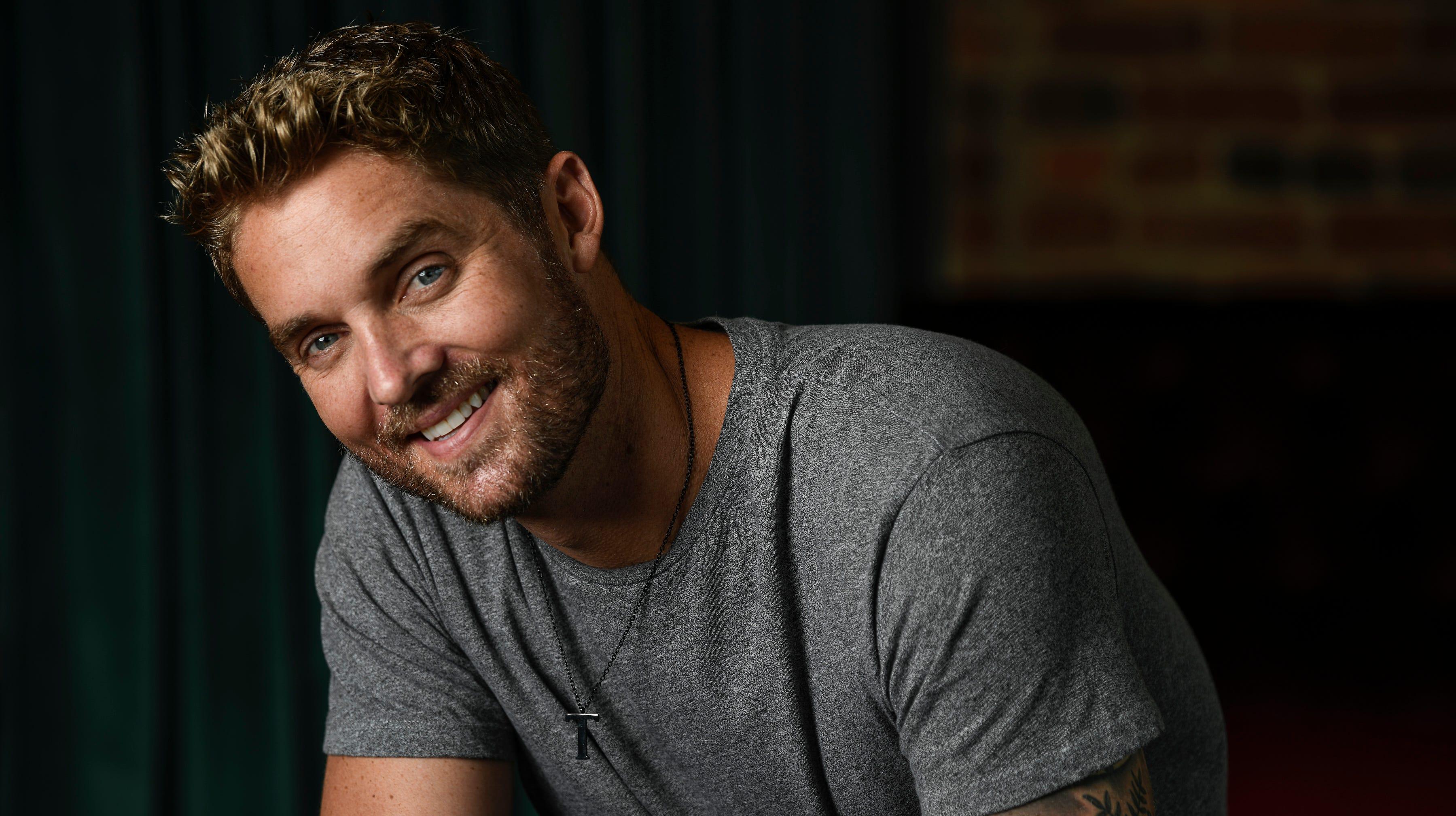 CMA New Artist of the Year nominee Brett Young Wednesday, Oct. 10, 2018, in Nashville, Tenn.