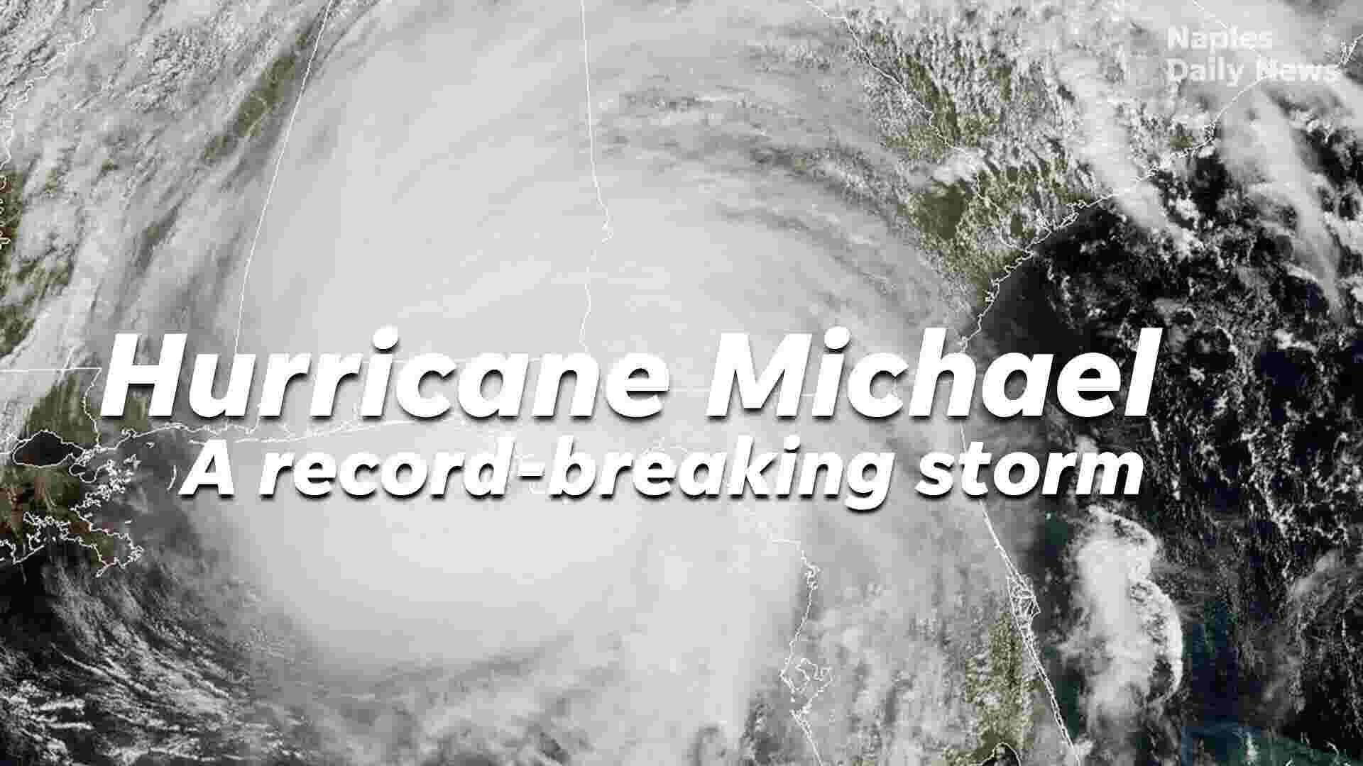 Hurricane Michael slams into the Florida Panhandle as a Category 4 storm