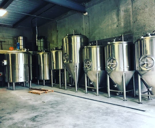 Ghost Hawk Brewing Company is in final stages of putting together its new facility. Located on River Raod, it hopes to open in six weeks.
