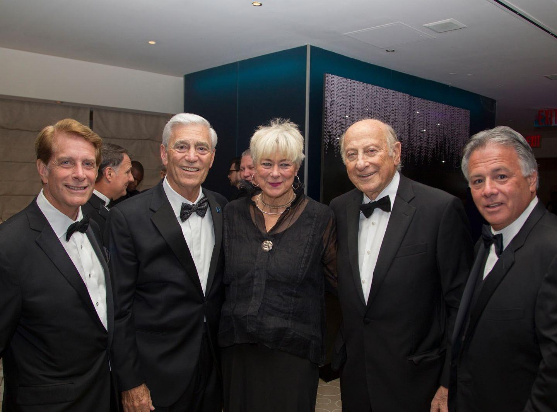 Rob Garrett, John Llyod, Anne Luzzatto, Gordon Litwal, Larry Inserra Jr. Hackensack University Medical Center Foundation held its 25th anniversary Recognition Gala at Rockefeller Center, NY. 10/06/2018
