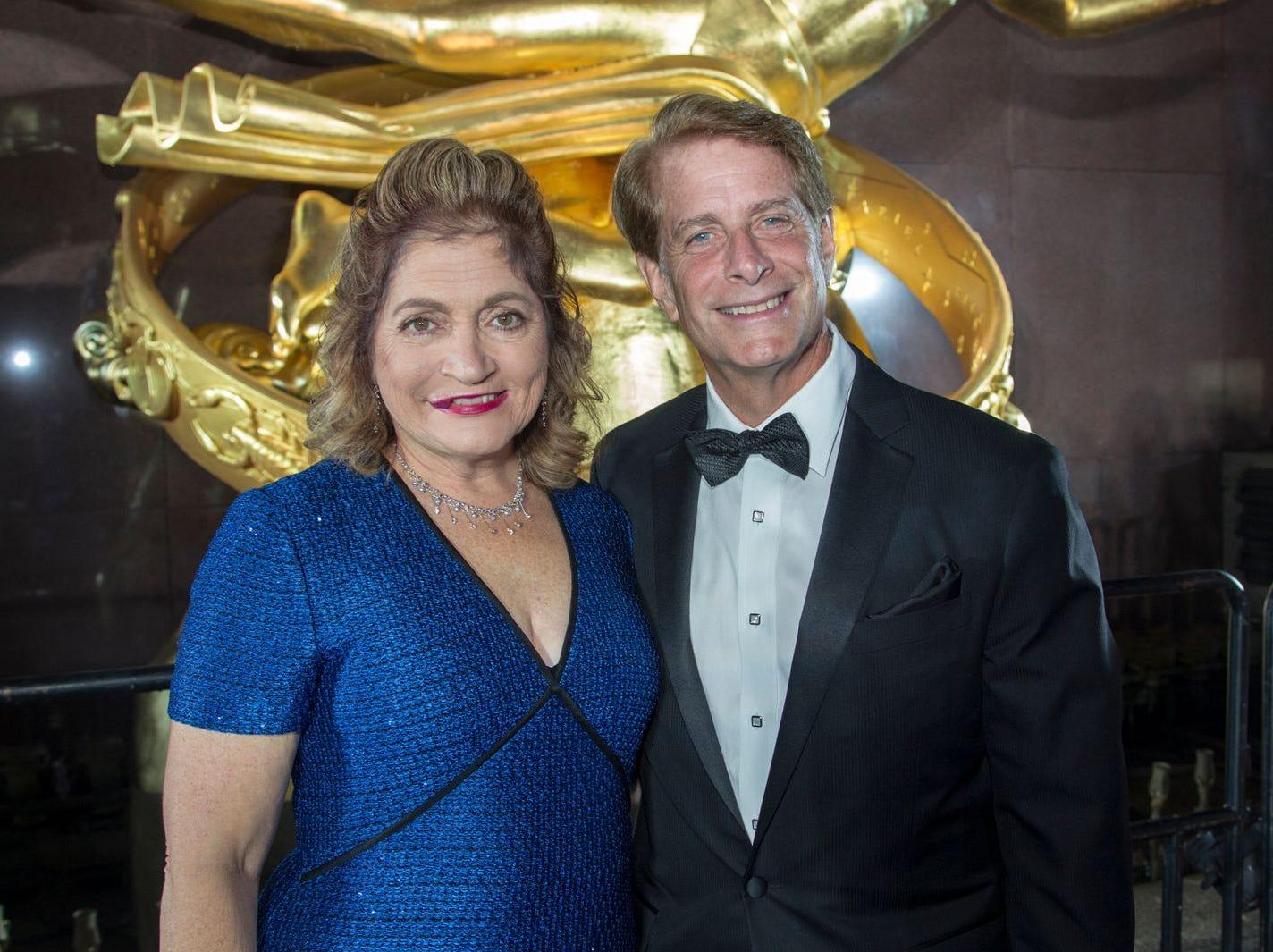 Laura and Rob Garrett. Hackensack University Medical Center Foundation held its 25th anniversary Recognition Gala at Rockefeller Center, NY. 10/06/2018