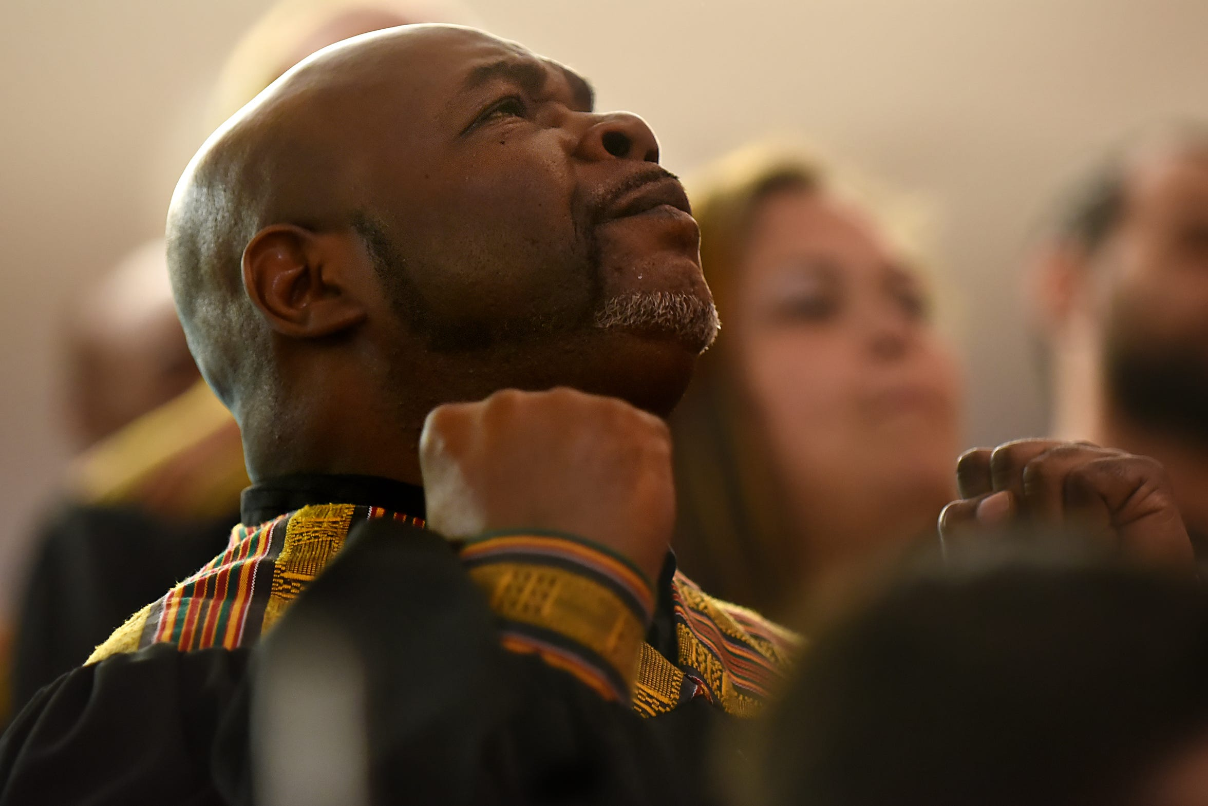 Irv DeBois, 57, a soloist with the Straight & Narrow Gospel Choir for recovering addicts, has been free of his addiction to heroin for more than a decade. He recruited alumni of Straight & Narrow's detox programs to join the choir, lending some continuity to its revolving membership.