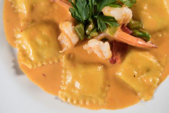 Cucina 545 in Totowa on Wednesday, October 10, 2018. Ravioli Aragosta.