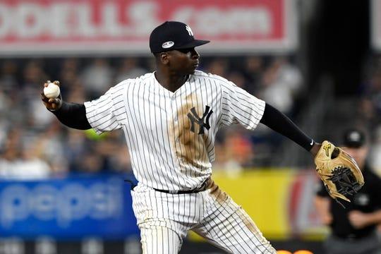 New York Yankees shortstop Didi Gregorius