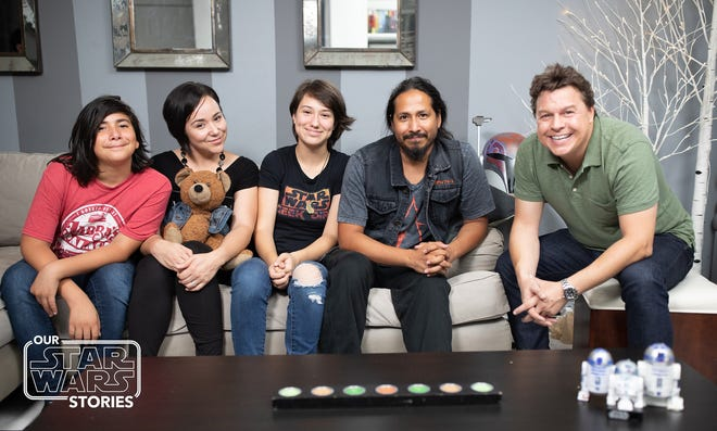 'Our Star Wars Stories,' is a new digital series hosted by Ridgewood's Jordan Hembrough (far right) that tells stories about the incredible ways that 'Star Wars' has impacted the lives of fans everywhere.