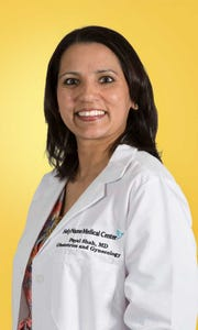 Dr. Payal Shah, director of obstetrics and gynecology at Holy Name Medical Center, will participate in the Women for Women panel discussion on Oct. 23 at Edgewood Country Club in River Vale.