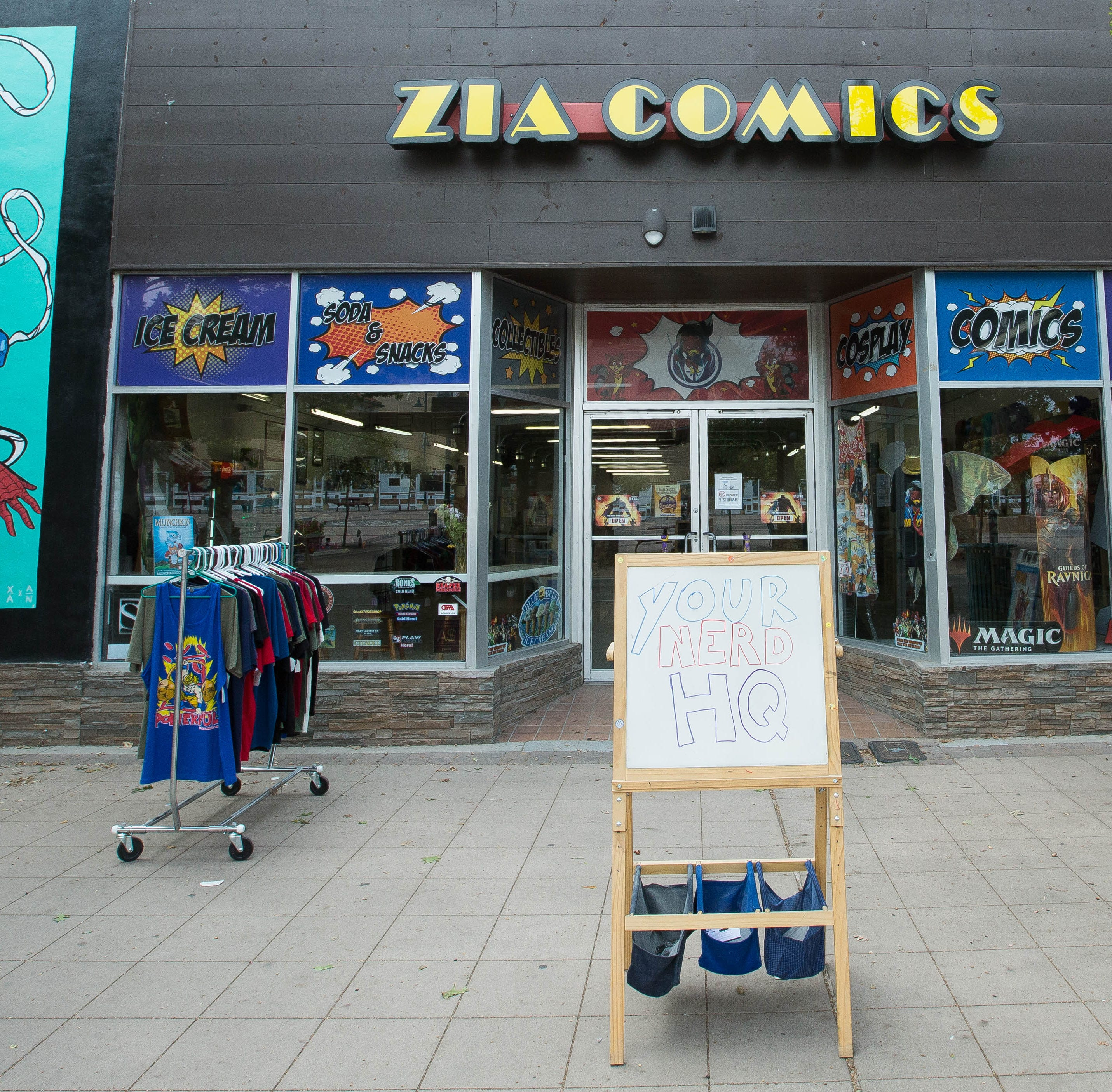 Zia Comics moves to downtown Las Cruces, expands gaming and cosplay services