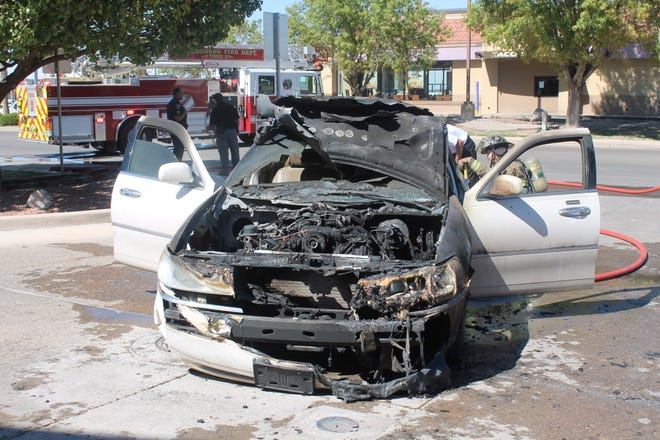 The best thing a driver can do if a vehicle catches on fire is to drive the car into an open parking lot or an area without a lot of traffic, and get away from the vehicle, said AFD Deputy Chief Jerry Ramirez.