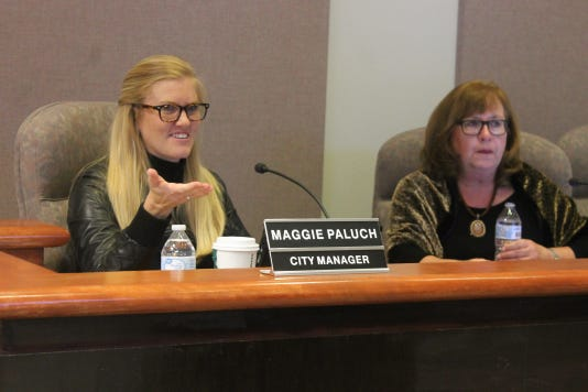 City Manager Maggie Paluch 10-9-18