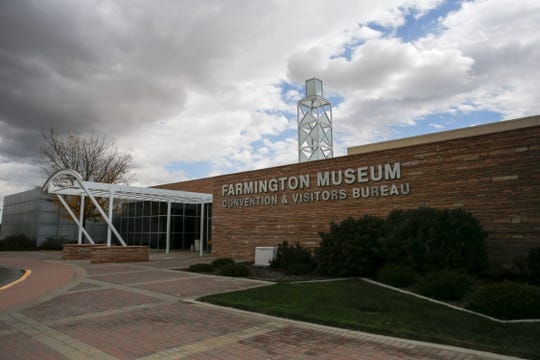 Farmington Museum at Gateway Park is pictured on Wednesday, Oct. 10, 2018. The museum could become the site of a new auditorium.