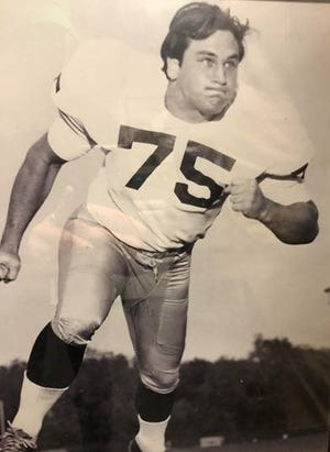 Greg Marx was a unanimous All-American football player at Notre Dame.