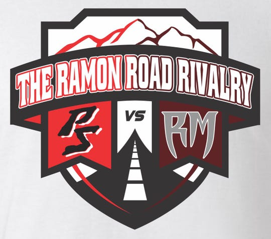 The logo for the Ramon Road Rivalry between Palm Springs and Rancho Mirage