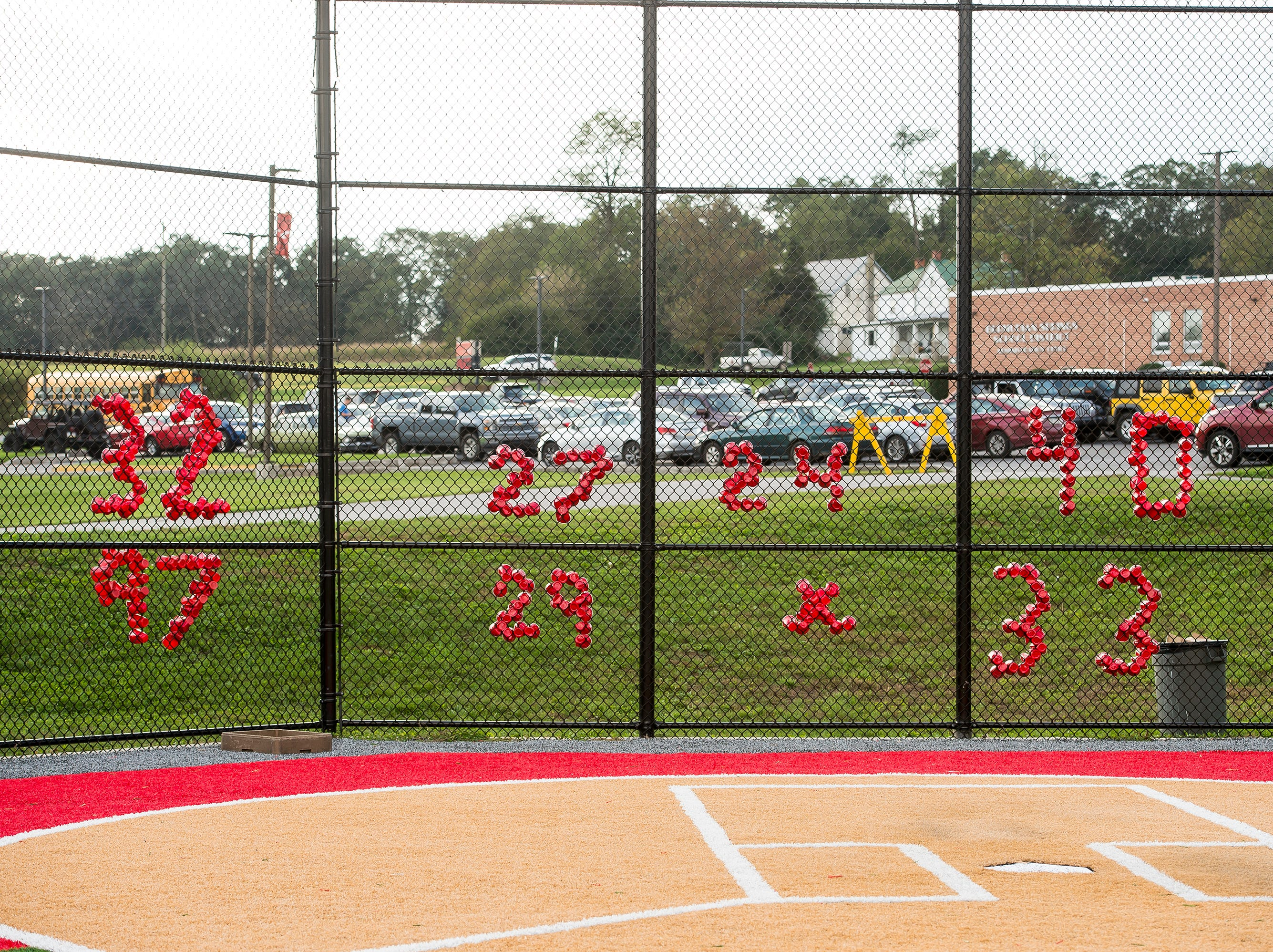 Bermudian Springs field hockey honored their seven seniors during a game against Littlestown on Tuesday, October 9, 2018. The seniors are Cecilia Lua (32), Kaitlyn McCollum (27), Bekah Eaton (24), Cindy Rivera (40), Melaina Shoop (97), Jenn Garcia (29) and Kayla Pyles (33).