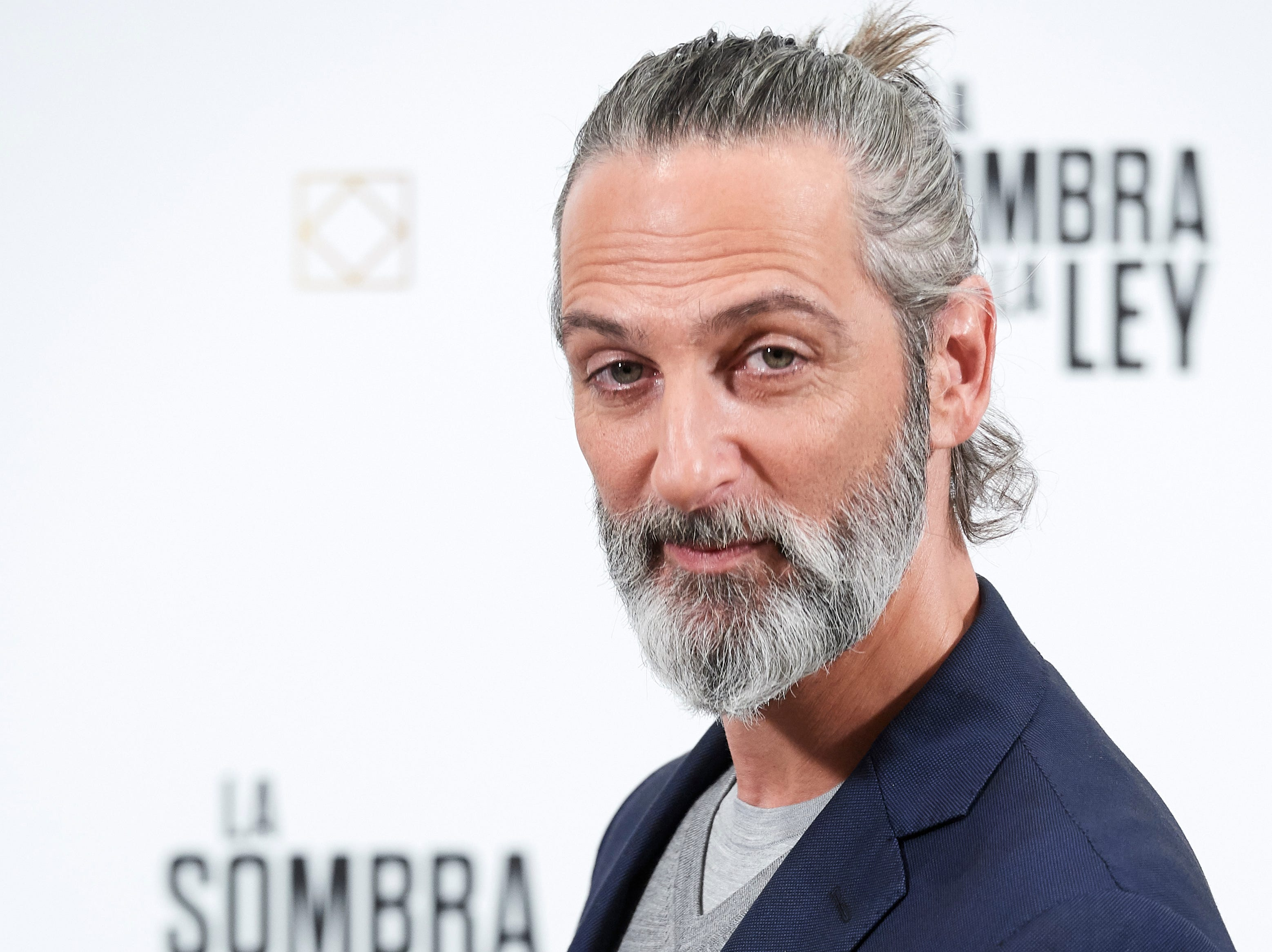 "Actor Ernesto Alterio attends a press event for ""La Sombra De La Ley"" on Oct. 10, 2018 in Madrid, Spain."
