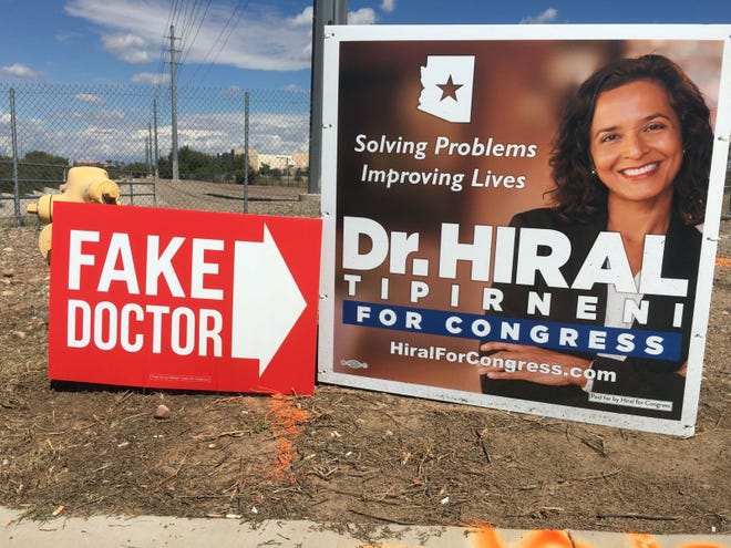 Rep. Debbie Lesko campaign sign.