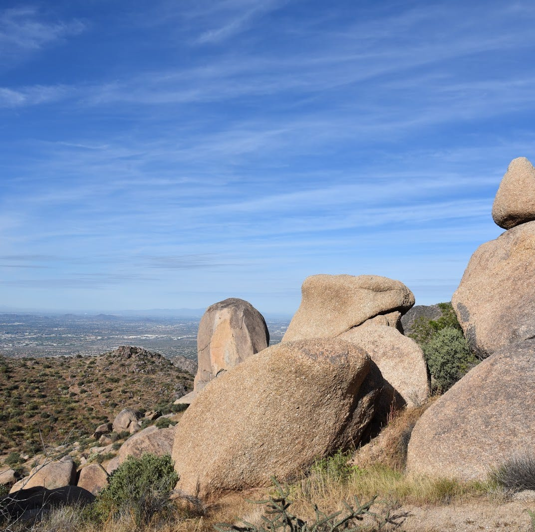 Scottsdale hike: Tom's Thumb makes you work, rewards with views