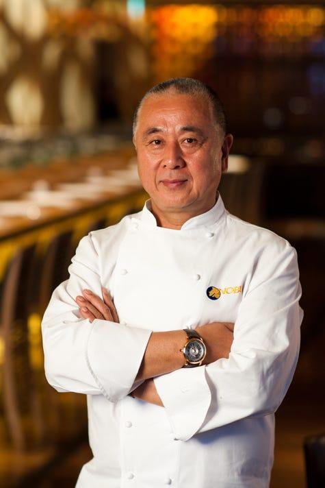 Chef Nobu Matsuhisa Courtesy Of Nobu Restaurants