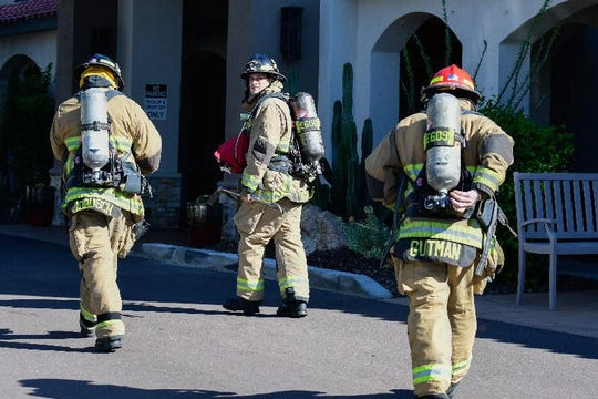 The Scottsdale Fire Department was called to a possible gas leak at Desert Flower Senior Living in Scottsdale. No leak was found and residents shortly returned to their homes.
