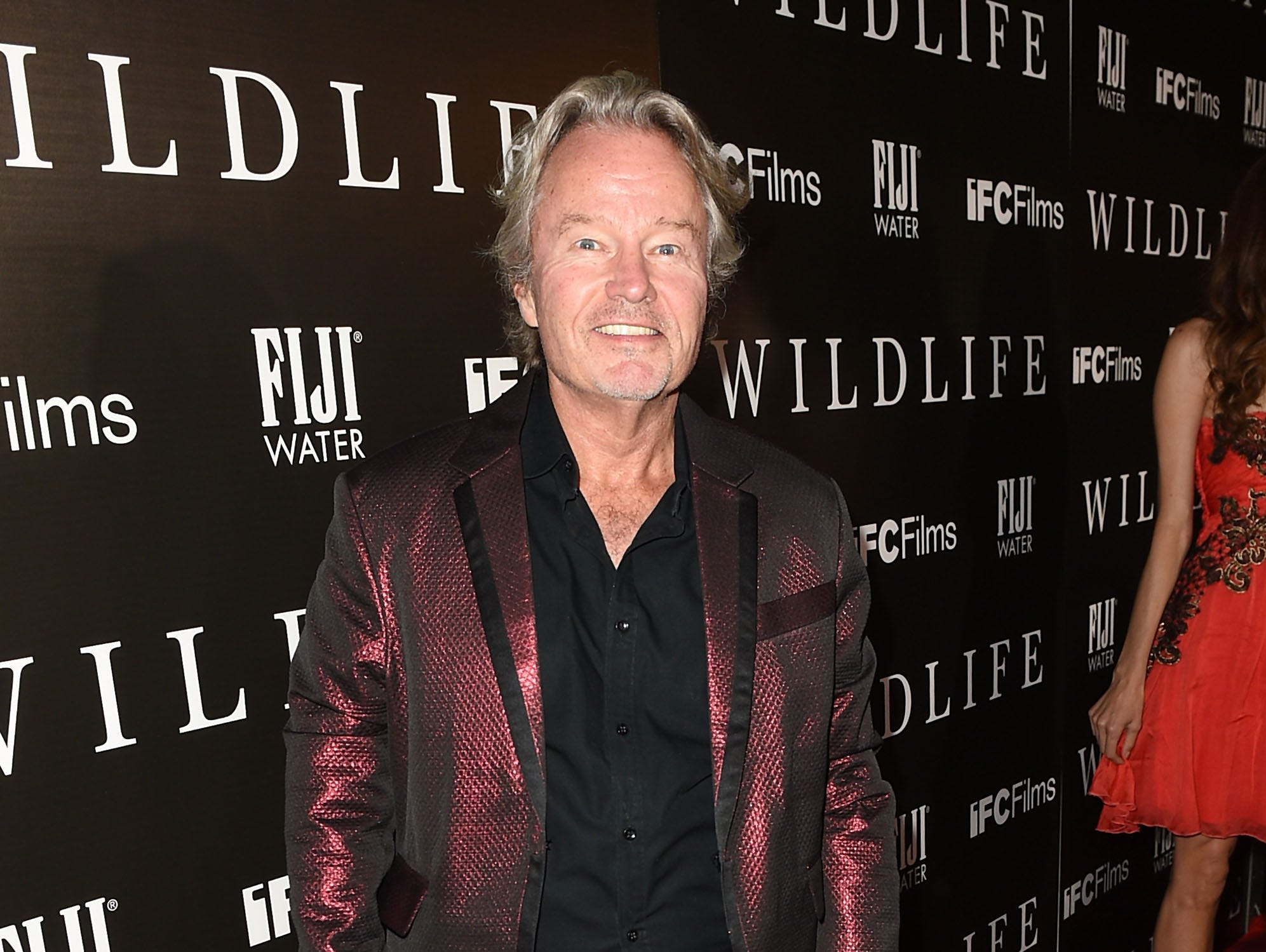 "John Savage arrives at the The Los Angeles Premiere Of ""Wildlife"" on Oct. 9, 2018."